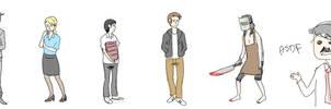 5 days a stranger lineup by Mayumiligaya