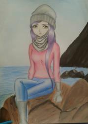 winter and the sea by mimi-memo