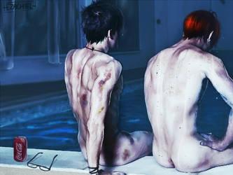 [The Pool] by Ezachi-el