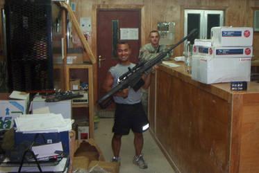 Little man,big gun. by magnumsoldier