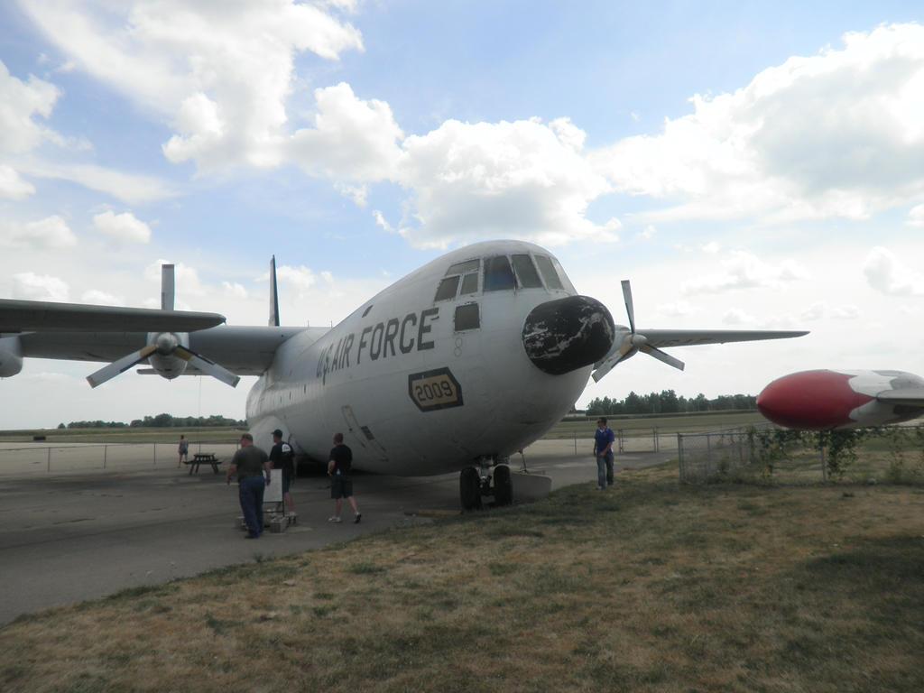 Douglas C-133A-25-DL Cargomaster by magnumsoldier