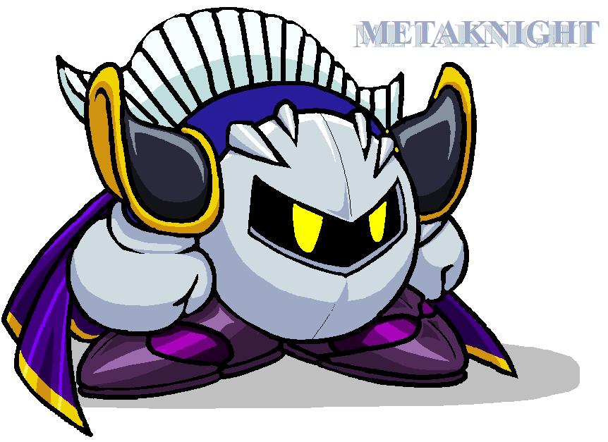 kirby super star meta knight how to draw