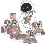 Mini Wall-e's