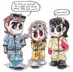 Johnny 5, WALL.E, and R.O.B
