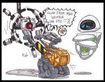 Never scan WALL.E's girl
