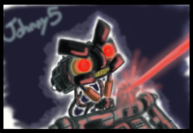 Angry Johnny 5 By PurpleRAGE9205 On DeviantArt