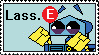 Lass-E Stamp by PurpleRAGE9205
