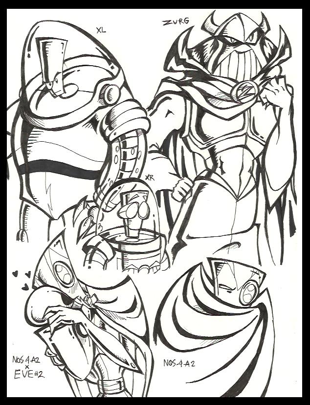BLoSC doodles by PurpleRAGE9205