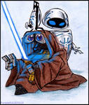WALL.E and STAR WARS