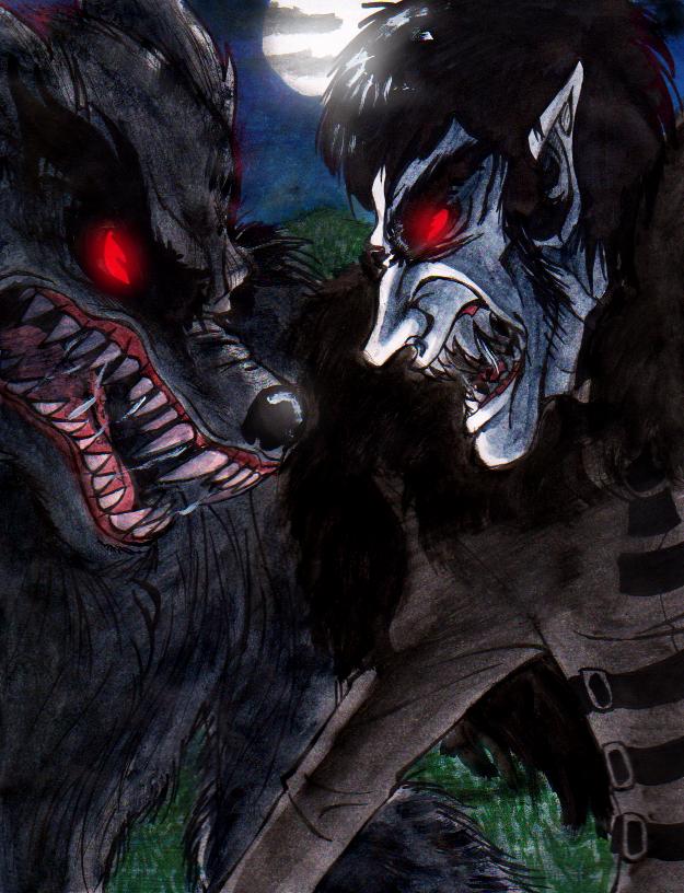 vampire vs werewolves