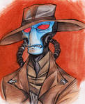 Cad Bane is NOT amused..