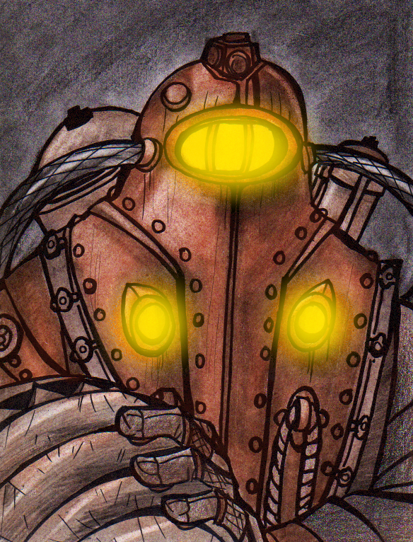 Bioshock 2: Subject Delta by PurpleRAGE9205