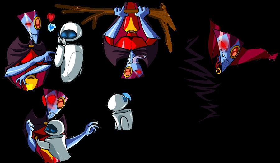 NOS-4-A2 x EVE.2 doodles 9 by PurpleRAGE9205