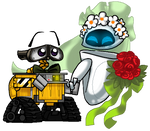 WALL.E and EVE's wedding day