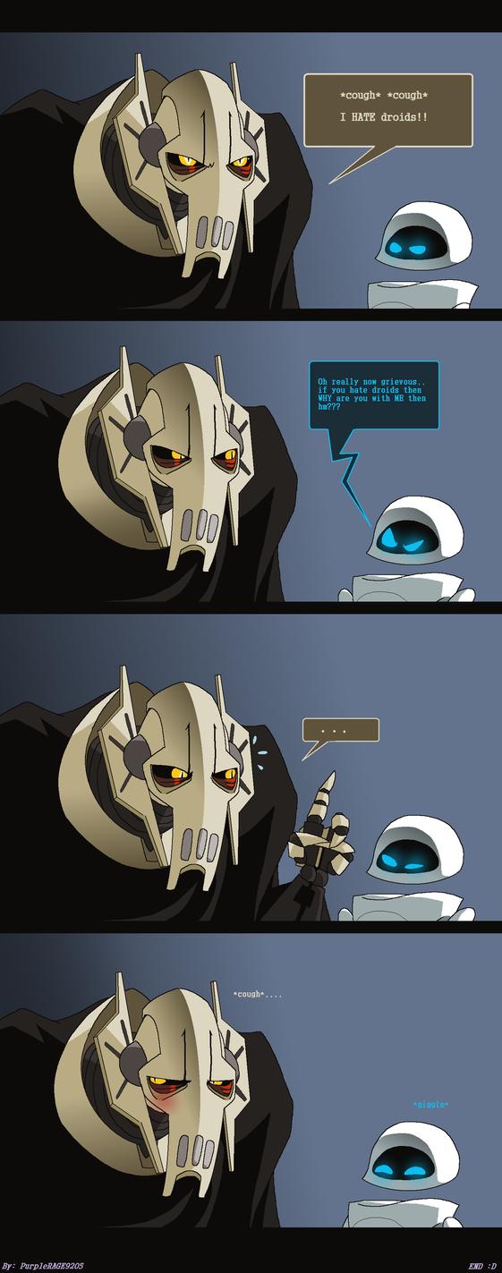 Grievous HATES droids -Comic- by PurpleRAGE9205
