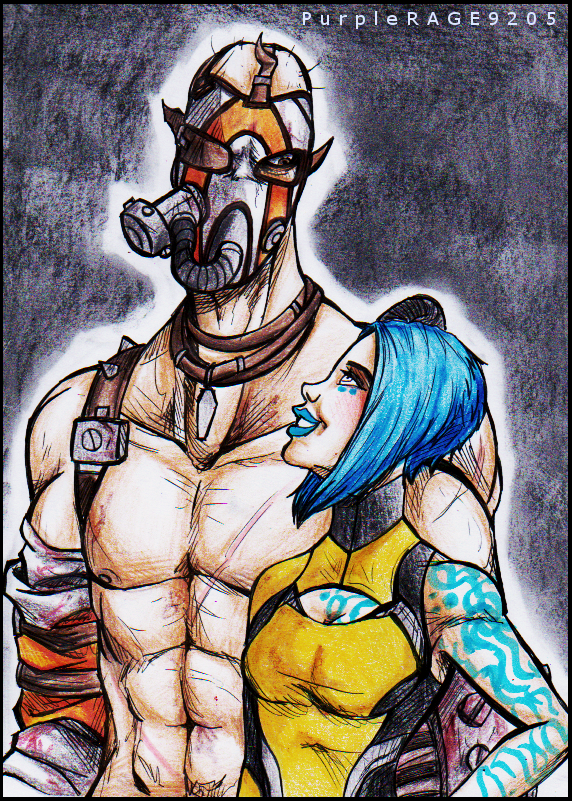 Krieg x Maya by PurpleRAGE9205