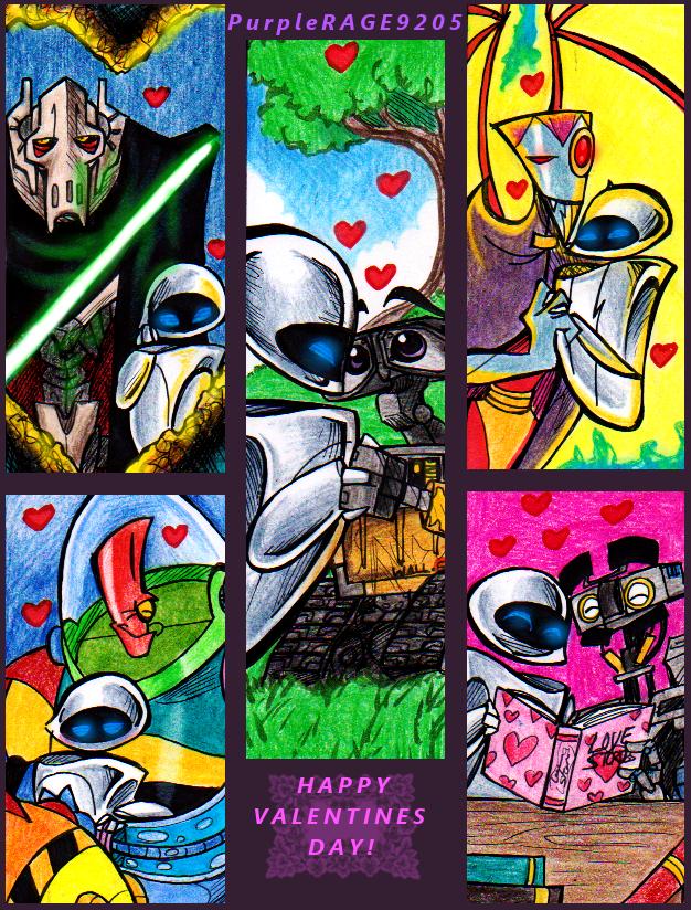 a Robotic Valentine by PurpleRAGE9205