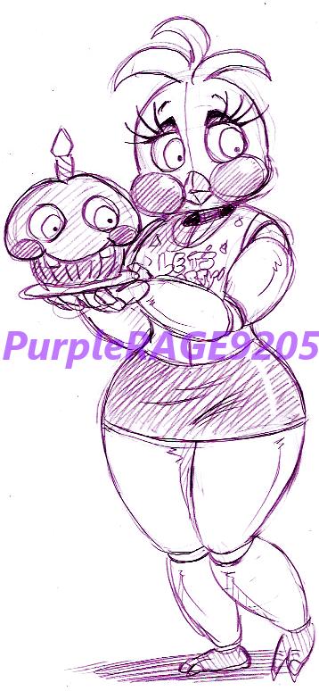 Quick Chic Sketch by PurpleRAGE9205