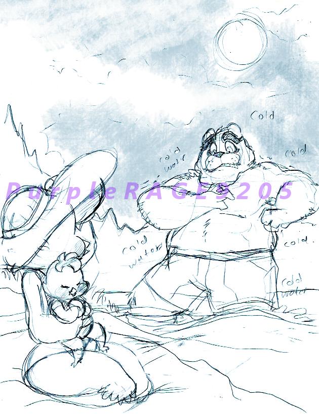 Family trip Sketch by PurpleRAGE9205