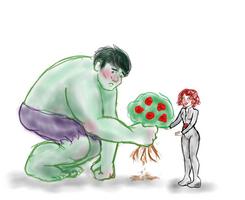 hulk sorry by mizumonet