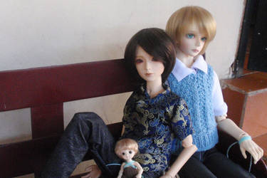 Mis tres chicos