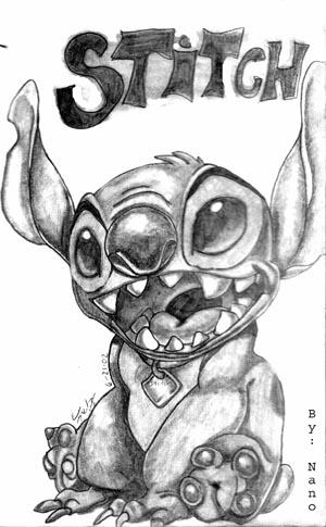 Stitch Sketch by Nanobear