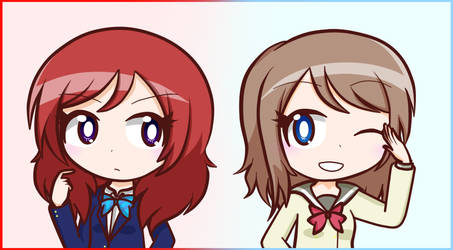 Red and Blue by Vanilla-Nishiki