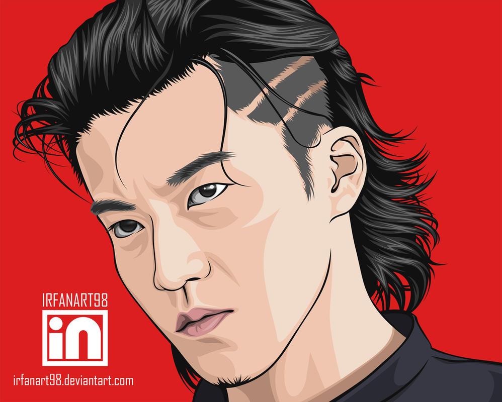 crow zero genji hairstyle fade haircut