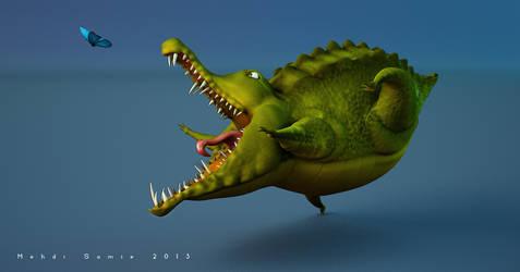 Crocodile by MehdiSamie