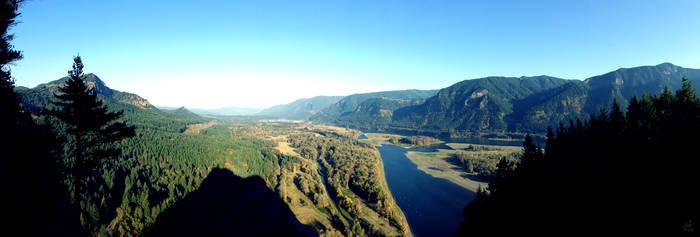 Columbia River Gorge --- iPhone Panorama Test