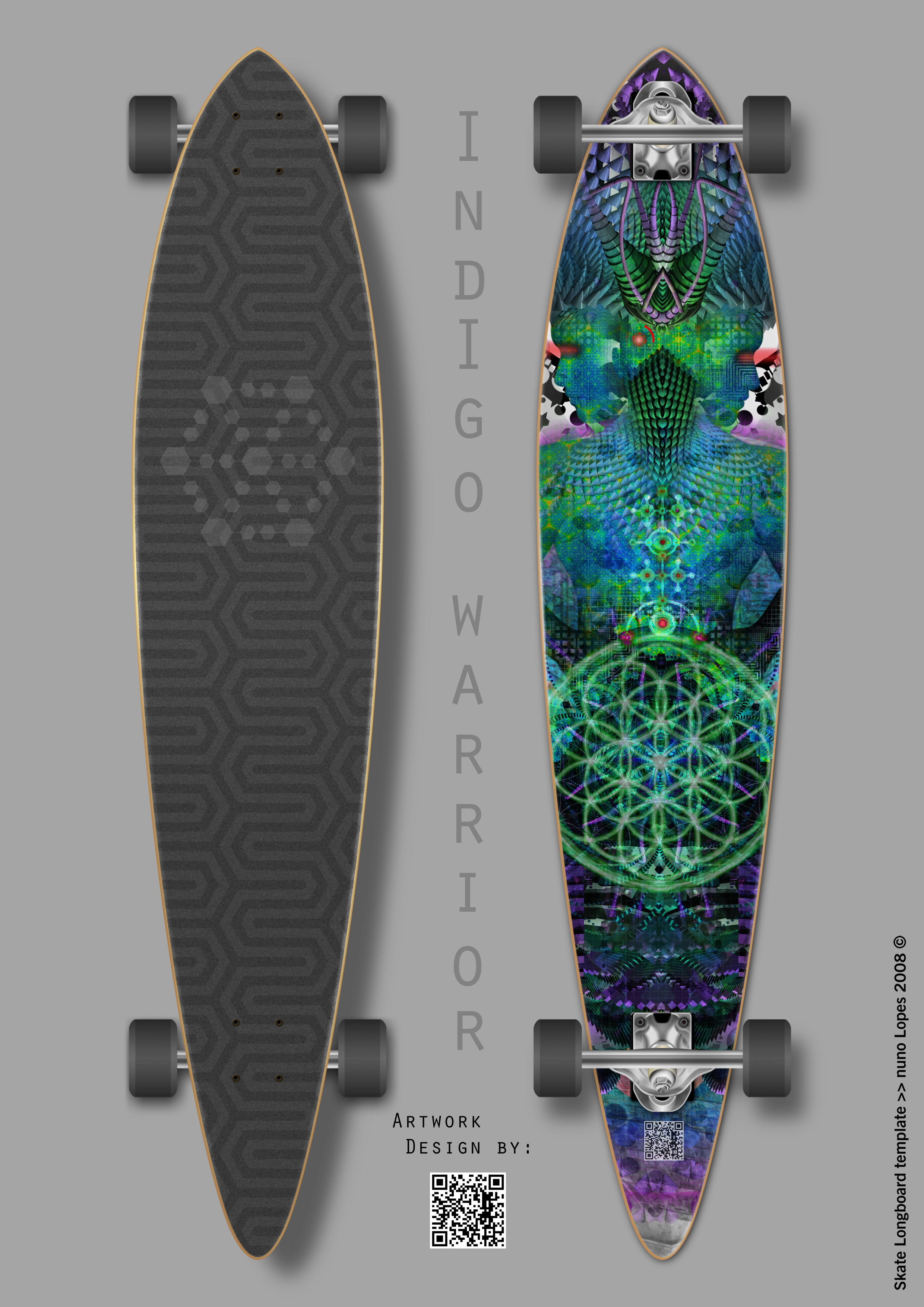 Active design Series 3: Indigo Warrior
