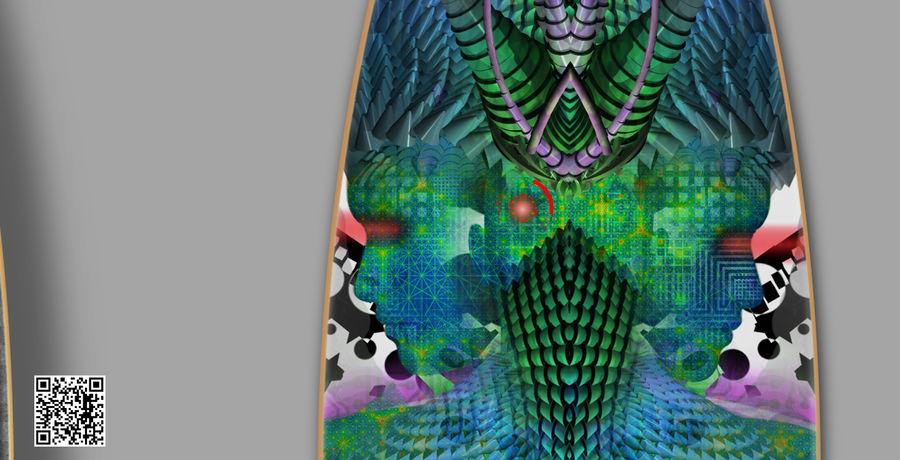 Active design Series 3: Indigo warrior 100% zoom 3