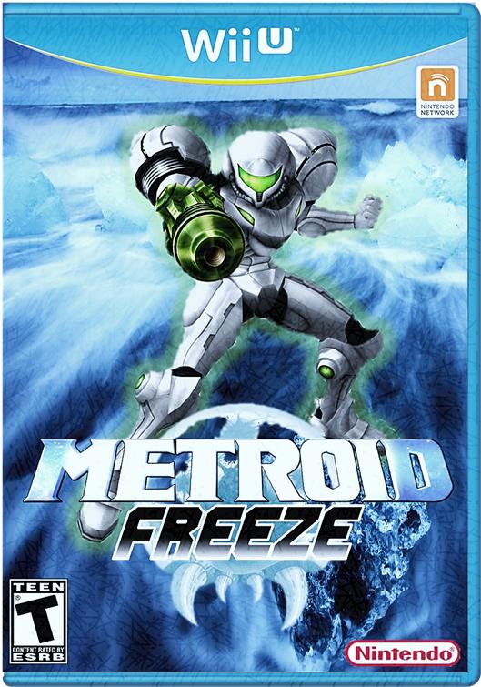 Metroid freeze Wii U by Mario64fANboy