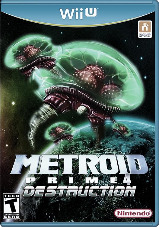 Metroid Prime 4 Destruction Wii U by Mario64fANboy