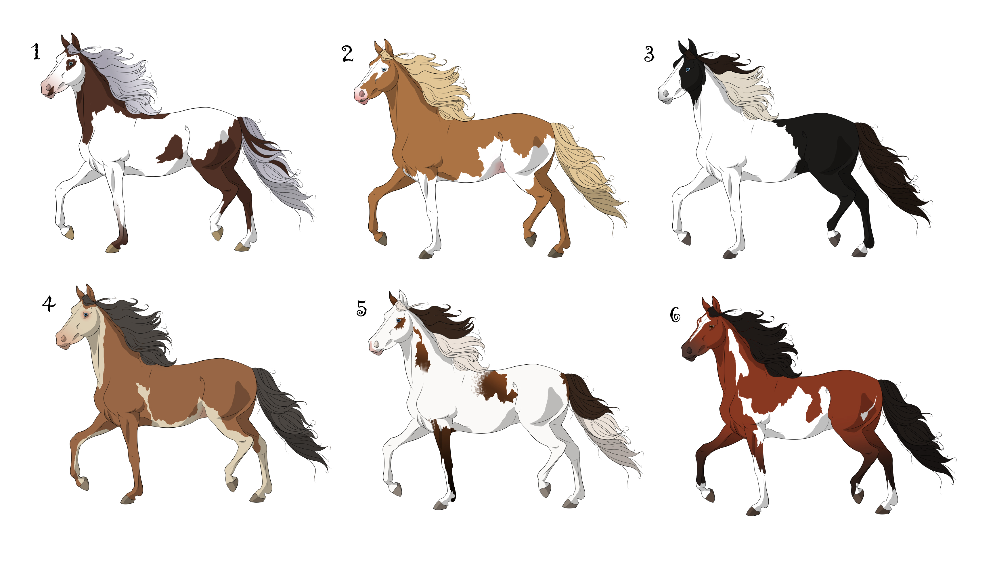 how to draw swedish dalecarlian horse