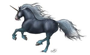 Inkfade Unicorn by RainbowFountains