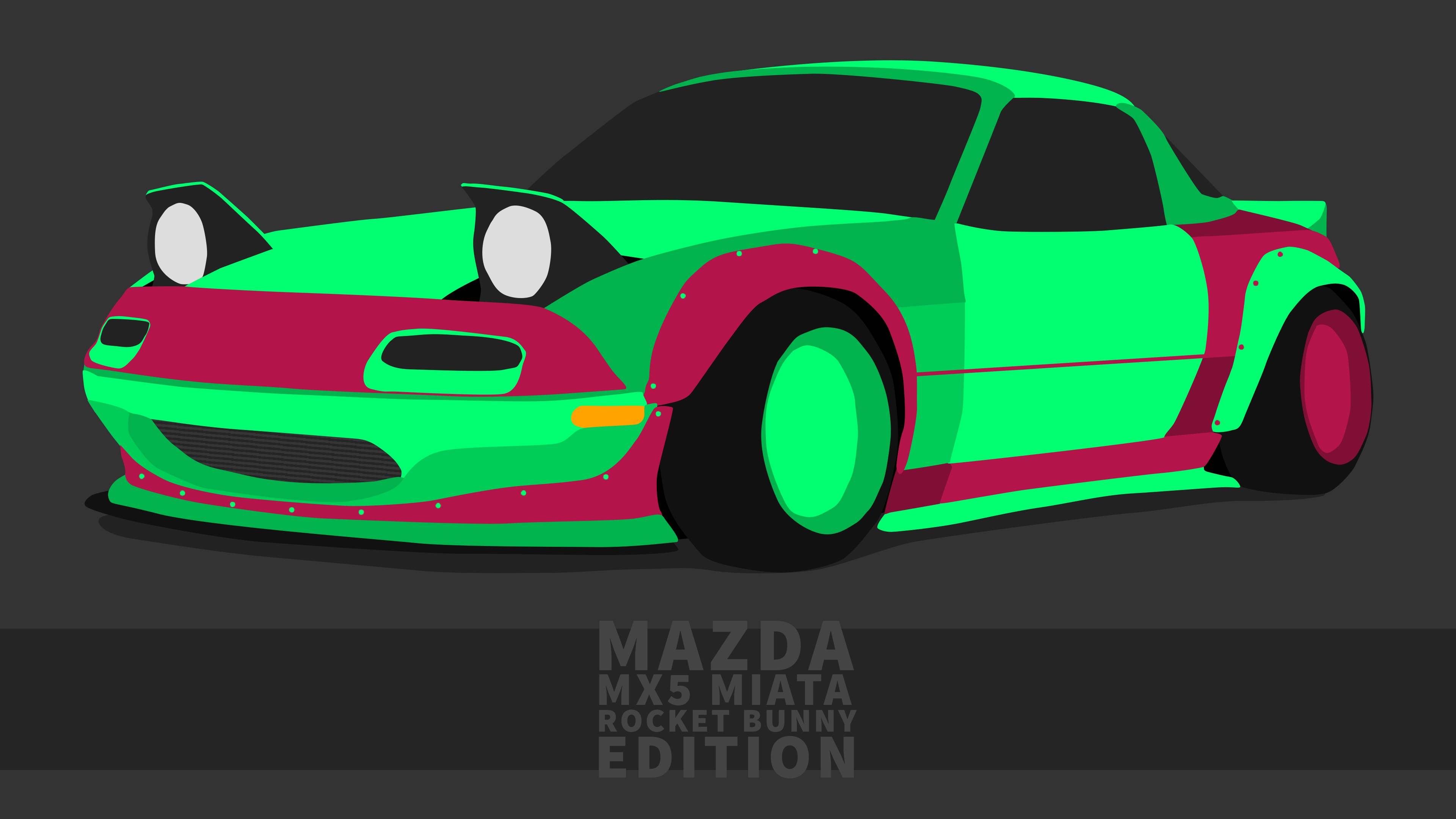 Mazda MX5 Miata Wallpaper 4k By ItsBarney01