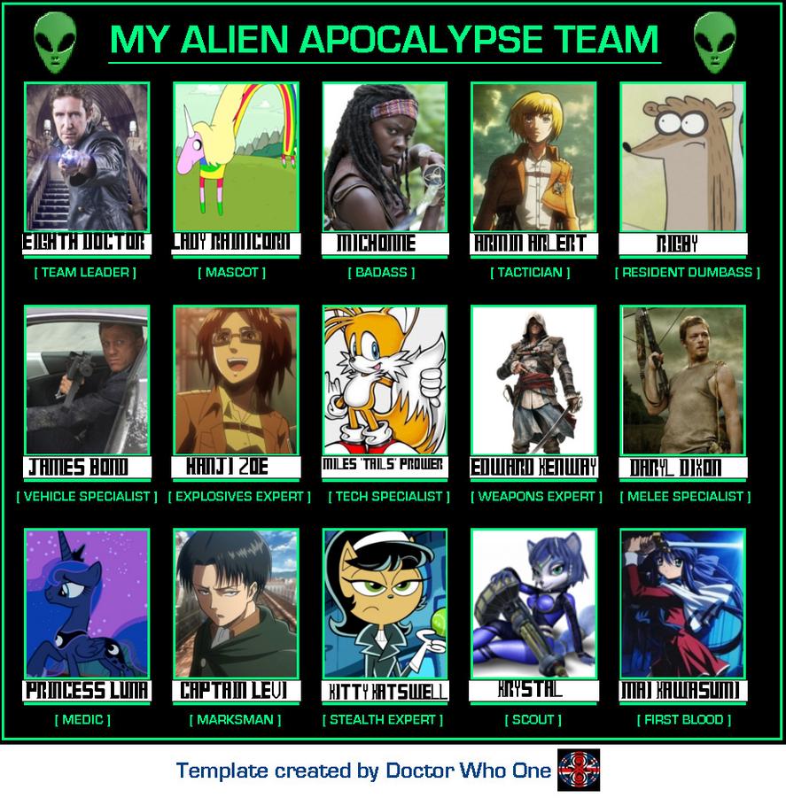 alien apocalypse quotes