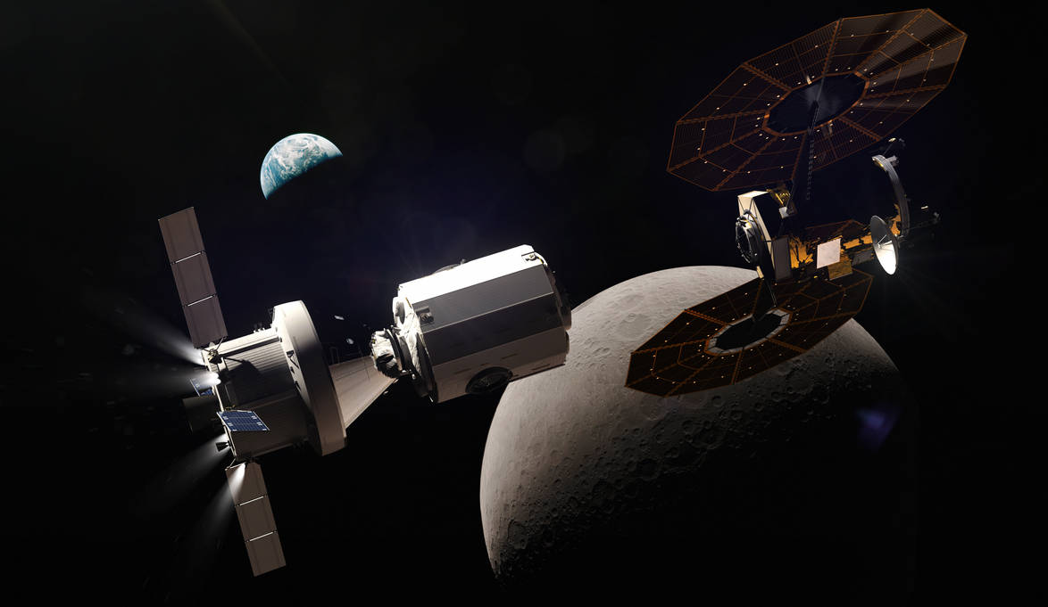 Deep Space Gateway >> Em 3 Approaches The Deep Space Gateway For Sfi By Okan170 On