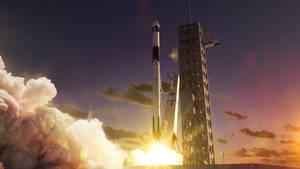 Crew Dragon Launch (for SFI) by okan170