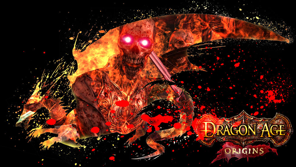 Dragon Age Origins Wallpaper III By Rosshiro
