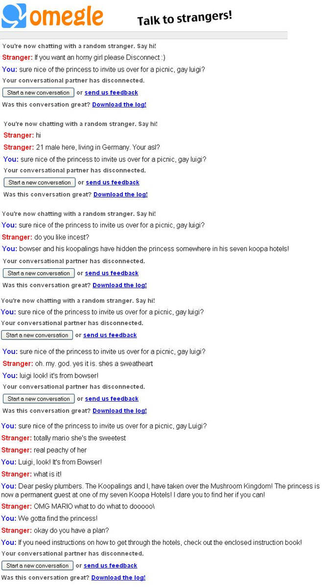 Gay Omegle Sites