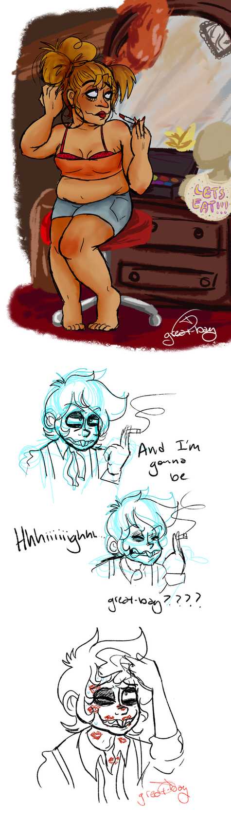 more fnaf dumps by YerBlues99