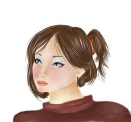 a girl by carmelyfairy