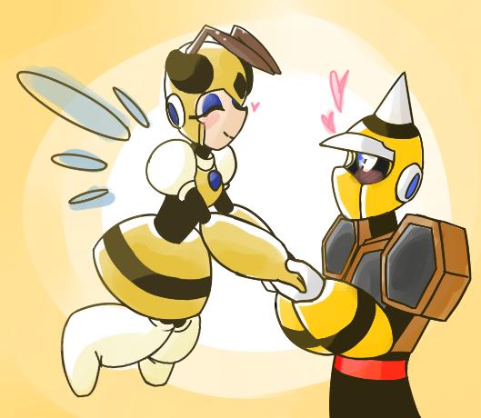 bees by sunshineNoka