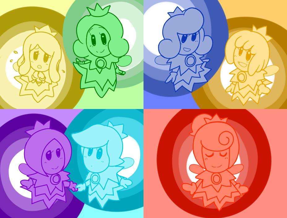 Sprixie Princesses by sunshineNoka
