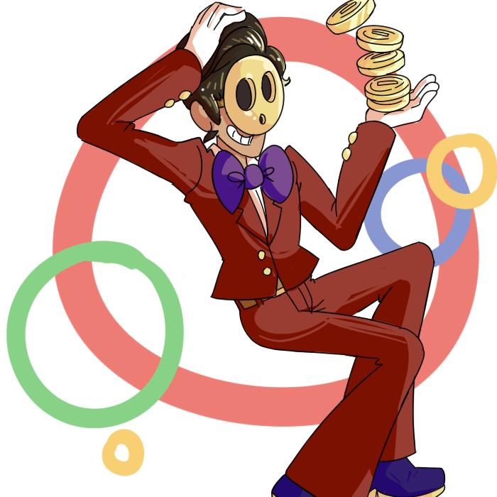 Human Game Guy by sunshineNoka