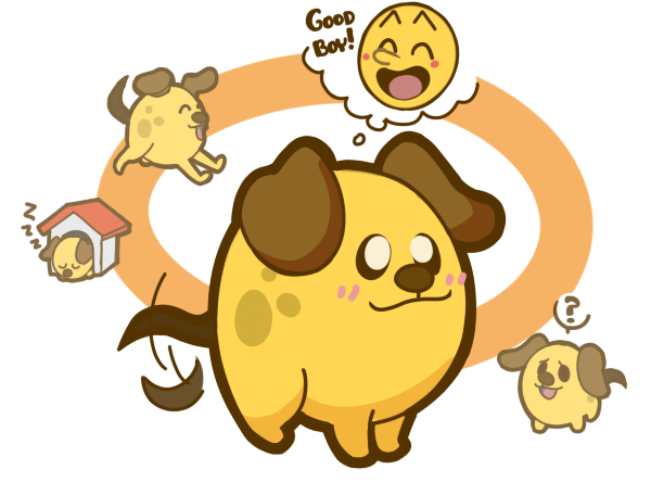 Pac-doggy by sunshineNoka