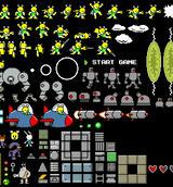 TerrierMan X spritesheet by AtomicTerrier