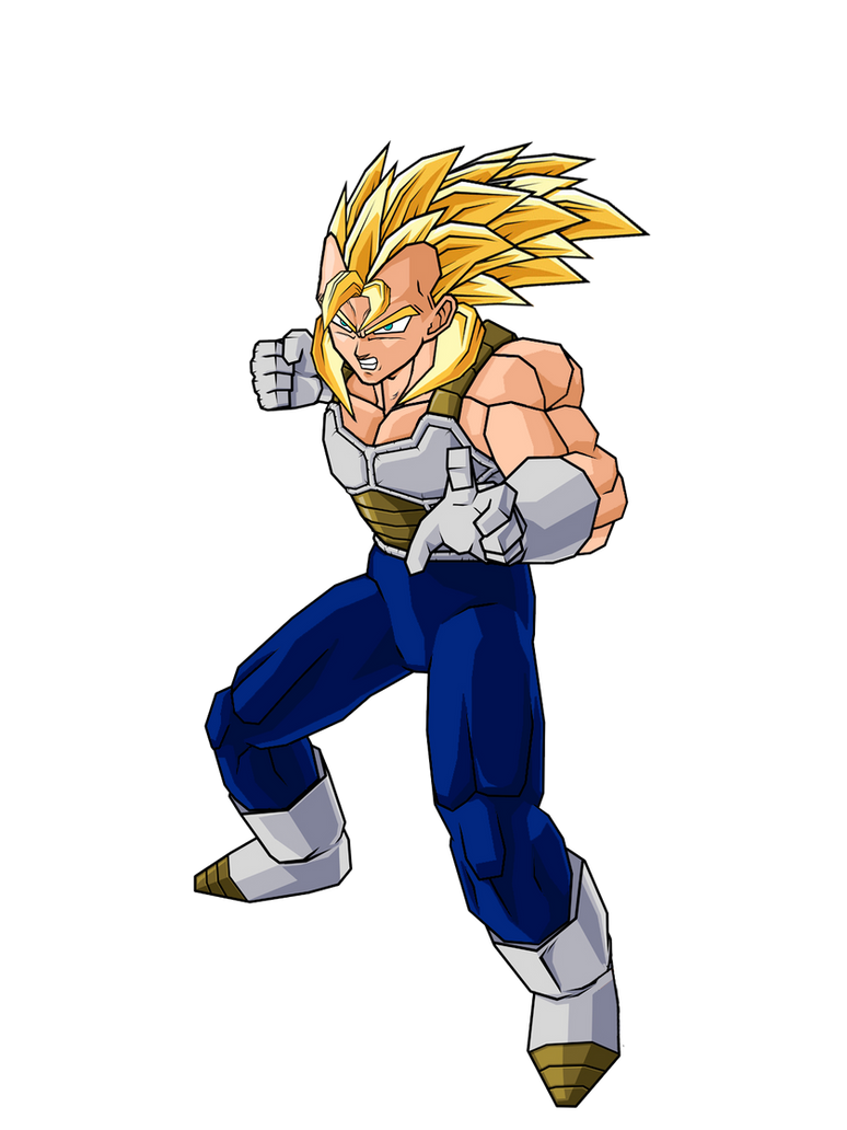 Future Vegeta Future Veggeta SSJ2 V1 by
